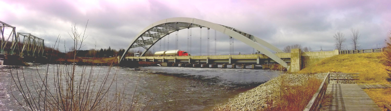 Latchford Bridge, Latchford Ontario, Town of Latchford